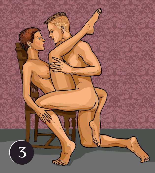во время секса прижимается