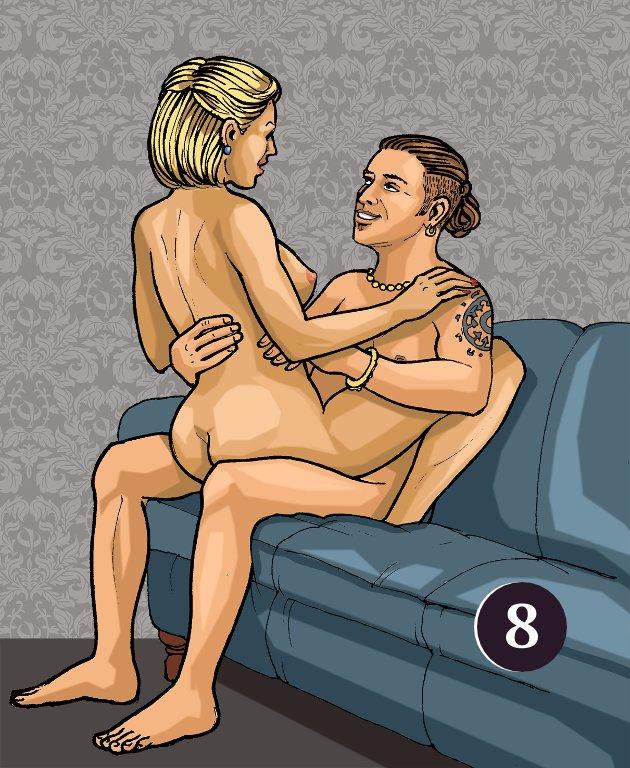 Урок секса  Варианты поз Мужчина сзади  Позы для секса