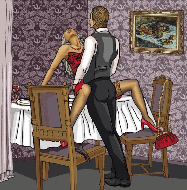Секс положения сидя