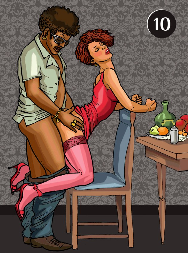 Секс в вертикальной позе