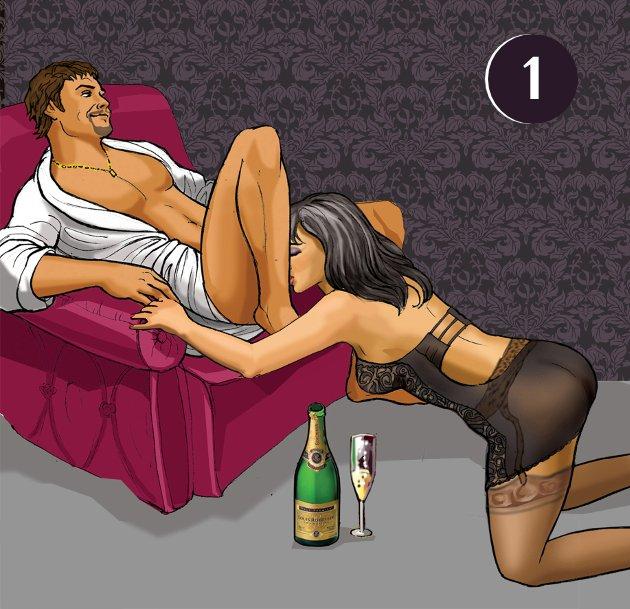 Позы для секса в кресле