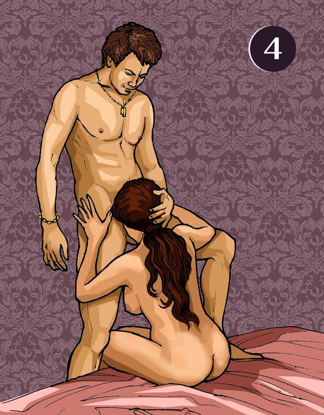 Дрочка трусиками секс в позе рот в рот
