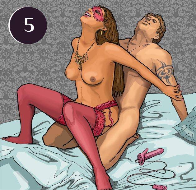 Позы в сексе женщина мужчина вибратор