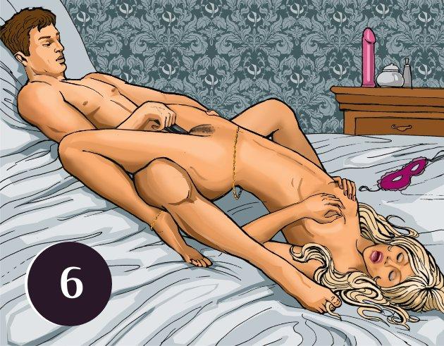 Позы для секса стимулируют точку джи